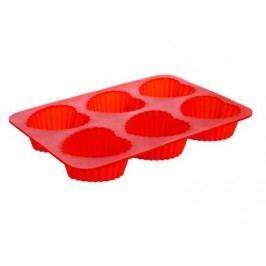 Forma silikonová CULINARIA Red 24,5 x 17,5 x 3 cm, srdce