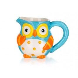 Mléčenka keramická OWL 315 ml, 13,1 x 9,1 x 9,8 cm