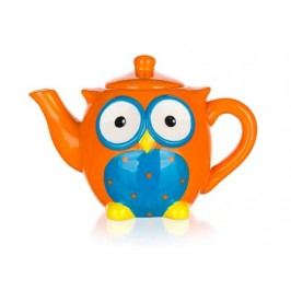 Konvice čajová keramická OWL 730ml, 20,5 x 11,9 x 14,2 cm