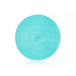 Prostírání kruhové PP 38 cm, tyrkys
