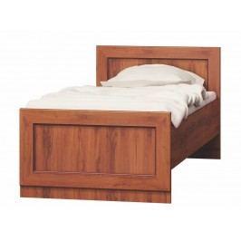 Dřevěná postel v provedení dub stoletý typ T21 KN079