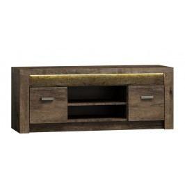 Televizní stolek v moderním dekoru jasan tmavý typ I9 KN089