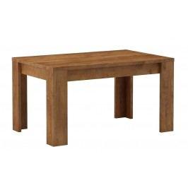 Dřevěný jídelní stůl rozkládací 120 x 80 cm v provedení jasan světlý KN062