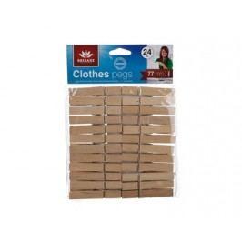 Sada dřevěných kolíčků, 24 ks