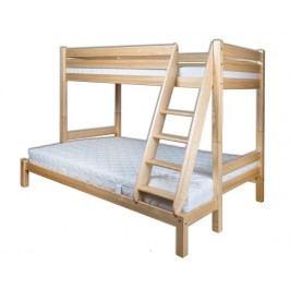 Dřevěná poschoďová postel typ KL155 KN095