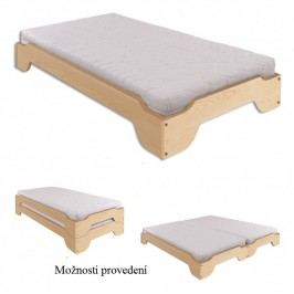 Dřevěná klasická postel o šířce 90 cm typ KL138 KN095