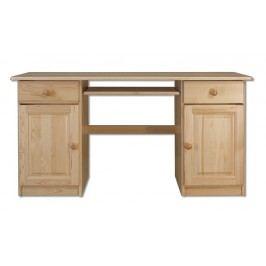 Dřevěný pracovní stůl se zásuvkami typ RB101 KN095