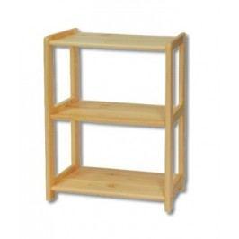 Praktický regál z borovicového dřeva typ GR125 KN095