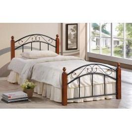 Elegantní postel v klasickém stylu o rozměrech 90 x 200 cm KN196