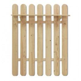 Dřevěný závěsný věšák s policí typ SW102 KN095