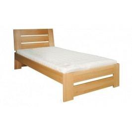 Dřevěná stylová postel o šířce 80 cm typ KL182 KN095