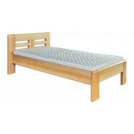 Dřevěná stylová postel o šířce 80 cm typ KL160 KN095