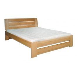 Dřevěná stylová postel o šířce 140 cm typ KL192 KN095