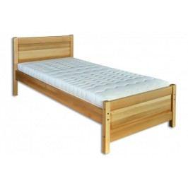 Dřevěná stylová postel o šířce 100 cm typ KL120 KN095