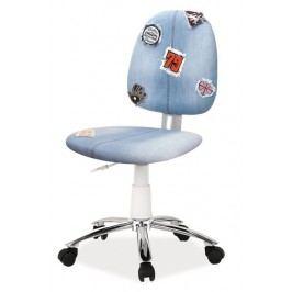 Kancelářská židle s netradičním designem typ ZAP2 KN100