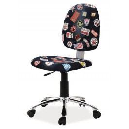 Kancelářská židle s netradičním designem typ ZAP1 KN100