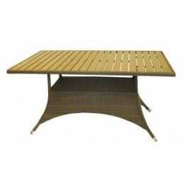 Jídelní stůl 150x90 cm hnědobéžové provedení RIMINI