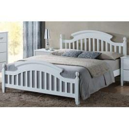Manželská postel o rozměrech 140 x 200 cm ve vintage stylu KN191