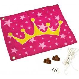 Dětská textilní vlajka motiv Princezna