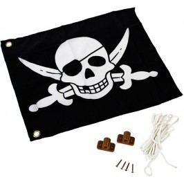 Dětská textilní vlajka motiv Piráti