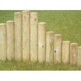 Kůl dřevěný 250x6 cm palisáda se špicí