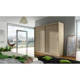 Skříň s posuvnými dveřmi v dekoru dub sonoma F1104