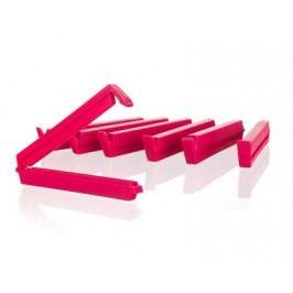 Sada klipsů na sáčky CULINARIA Red / Green 10 cm, 6 ks