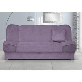 Rozkládací pohovka s úložným prostorem fialové barvy F1120