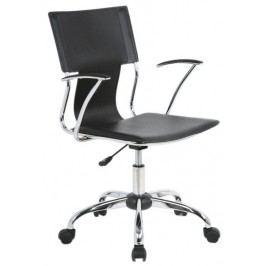Moderní kancelářská židle v černé barvě KN377