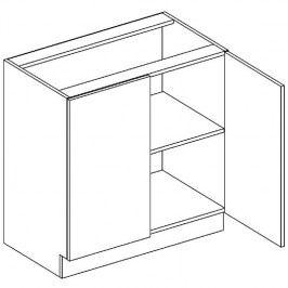 Skříňka dolní š.80cm D 80 KN2001 wenge