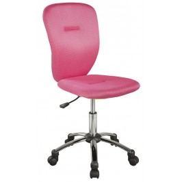 Kancelářská židle růžové barvy KN378