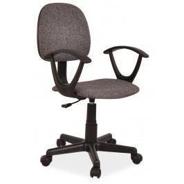 Kancelářská židle, šedá KN059