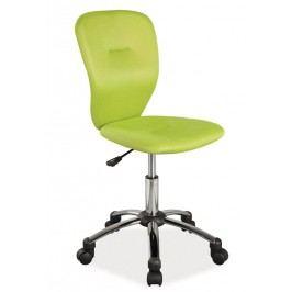 Kancelářská židle zelené barvy KN378