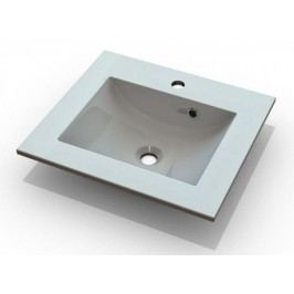 Bílé umyvadlo 60 cm do koupelnových sestav KN485 a KN487 a KN488