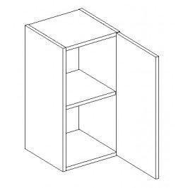 Dolní skříňka v pravém provedení 30 cm v moderním dekoru wenge typ D30 KN490