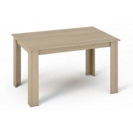 Jídelní stůl 140x80 cm v dekoru dub sonoma KN360