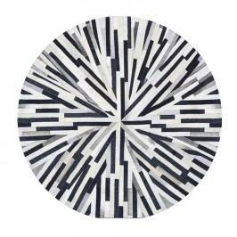 Luxusní koberec z kůže typ patchworku 200x200 cm TK3314