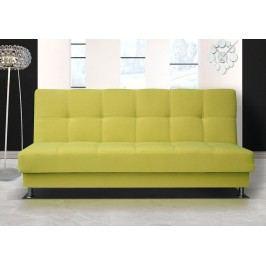 Pohodlná pohovka s úložným prostorem v žluté barvě F1303