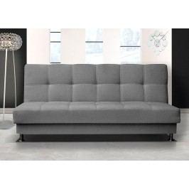 Pohodlná pohovka s úložným prostorem v tmavě šedé barvě F1303