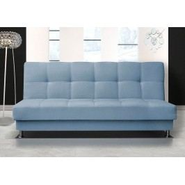 Pohodlná pohovka s úložným prostorem ve světle modré barvě F1303
