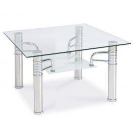 Konferenční stolek v moderním provedení se skleněnou deskou KN436