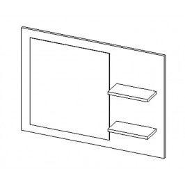 Panel se zrcadlem do koupelny 90 cm dub sonoma KN486