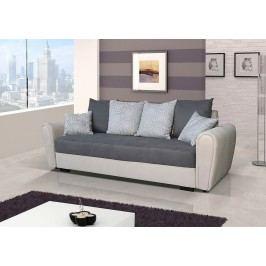 Pohodlná pohovka s úložným prostorem v kombinaci béžové a šedé barvy F1141