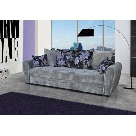 Pohodlná pohovka s úložným prostorem v šedé barvě F1141