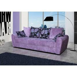Pohodlná pohovka s úložným prostorem ve fialové barvě F1141