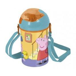Láhev plastová POP UP Peppa PIG 450 ml