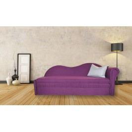 Rozkládací pohovka fialové barvy pravá F1155