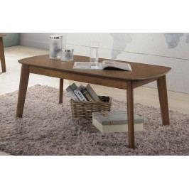 Konferenční stolek 106x56 cm v dekoru ořech světlý KN431