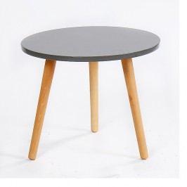 Příruční stolek 50x46cm v šedém provedení TK2152