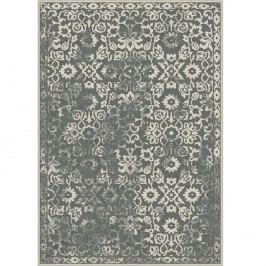 Koberec, vintage, tmavě šedý, 67x105, MORIA